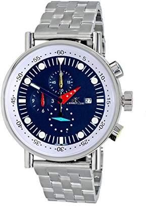 Adee Kaye Men's Quartz Stainless Steel Sport Watch