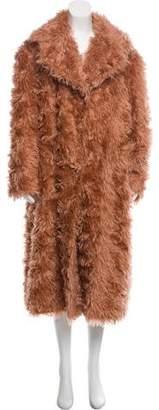 Maison Margiela Mohair Long Coat w/ Tags