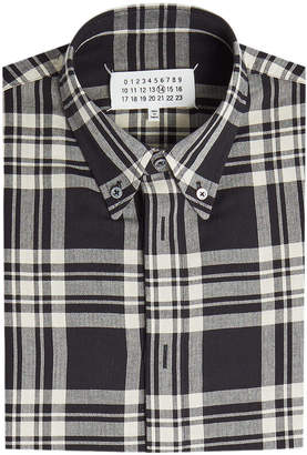 Maison Margiela Checked Cotton Shirt