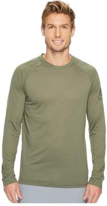 Reebok Supremium Long Sleeve Baseball Tee Men's Workout
