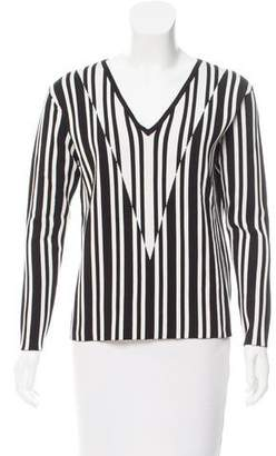 Tanya Taylor Striped Johnny Sweater