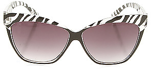 *MKL Accessories The Versailles Sunglasses in Zebra