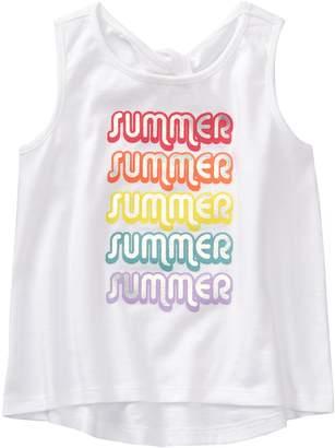 Crazy 8 Crazy8 Toddler Sparkle Summer Tank