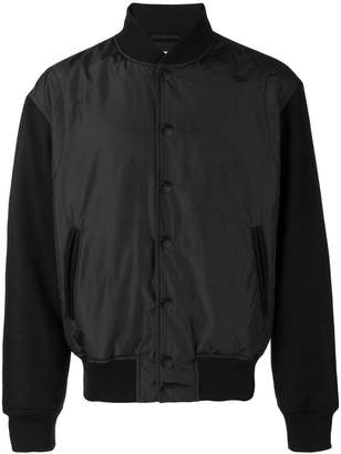 Versus logo print bomber jacket