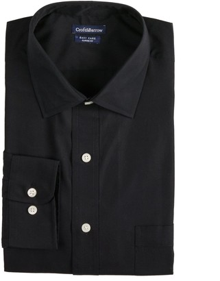 Croft & Barrow Big & Tall Classic-Fit Easy-Care Spread-Collar Dress Shirt