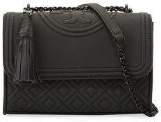 Tory Burch Fleming Small Matte Leather Shoulder Bag