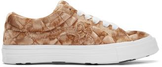 Converse Brown Golf le Fleur* Velvet Chuck 70 Low Sneakers