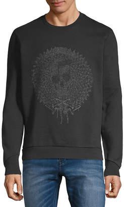Just Cavalli Tonal Graphic Sweatshirt