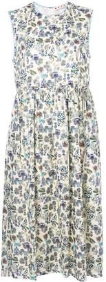 Marni printed smock dress