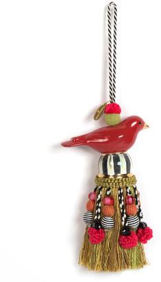 Mackenzie Childs MacKenzie-Childs Ceramic Bird Tassel