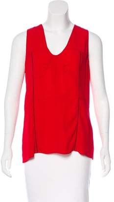 Marni Sleeveless V-Neck Top