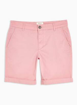 Selected Mens Light Pink 'Paris' Organic Cotton Shorts