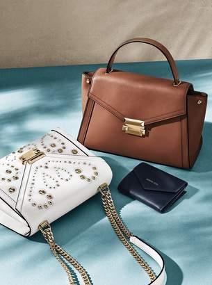 MICHAEL Michael Kors Whitney Large Embellished Leather Shoulder Bag