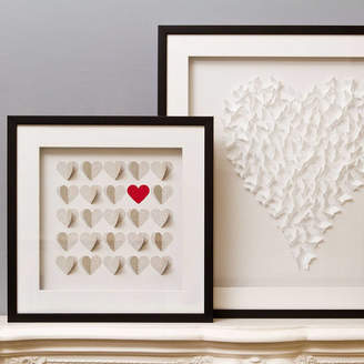 Daisy Maison Framed 3D Box Of Hearts Artwork