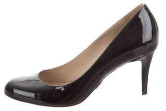 Michael Kors Patent Leather Round-Toe Pumps