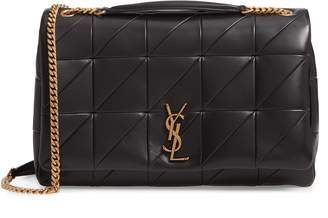 Saint Laurent Saint Lauren Large Jamie Patchwork Leather Shoulder Bag