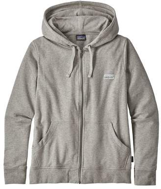Patagonia Women's Pastel P-6 Label Ahnya Full-Zip Hoody