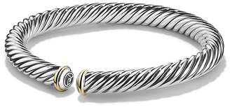 David Yurman Cable Spira Bracelet with 18K Gold