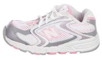 New Balance Girls' Mesh Low-Top Sneakers