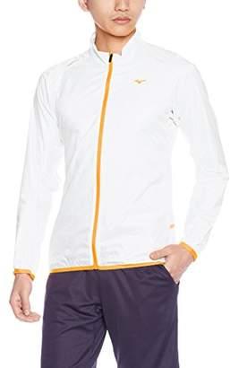 Mizuno (ミズノ) - (ミズノ)MIZUNO ランニングウェア ウィンドブレーカーシャツ [メンズ] J2ME7010 01 ホワイト L