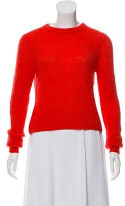 Rebecca Minkoff Open Knit Crew Neck Sweater