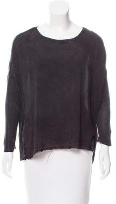 Raquel Allegra Acid Wash Cocoon Top w/ Tags