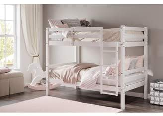 Dwell Home Inc DHI Bailey Twin over Twin Convertible Wood Bunk Bed, Multiple Colors