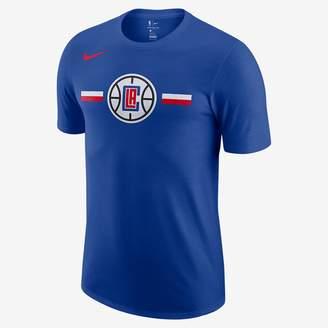 Nike Los Angeles Clippers Dri-FIT Logo Big Kids' NBA T-Shirt