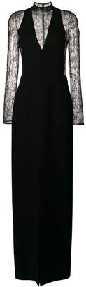 Givenchy long sleeved lace dress