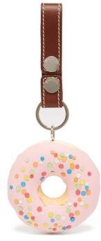 J.W.Anderson Sprinkles Doughnut Keyring - Womens - Pink Multi
