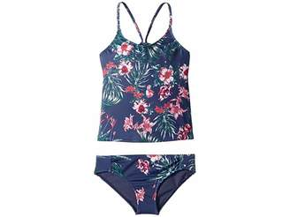 Roxy Kids Surf the Desert Tankini Set (Big Kids)