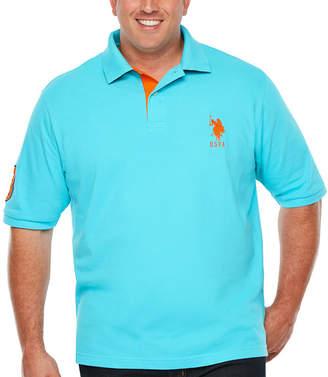 U.S. Polo Assn. USPA Embroidered Short Sleeve Polo Shirt Big and Tall