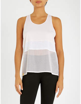 Monreal London Racerback stretch-jersey top