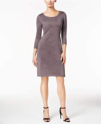 Nine West Metallic Sheath Dress