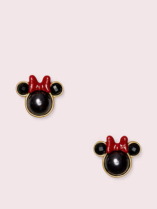 Kate Spade For Minnie Mouse Studs, Black