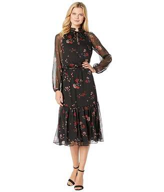 Lauren Ralph Lauren Floral Georgette Dress