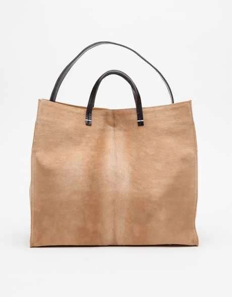 Tan Simple Tote