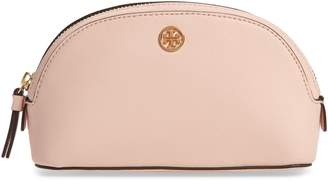 eff947d210ad Tory Burch Robinson Small Leather Cosmetic Bag