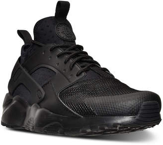 Nike Men's Air Huarache Run Ultra Running Sneakers from Finish Line $120 thestylecure.com