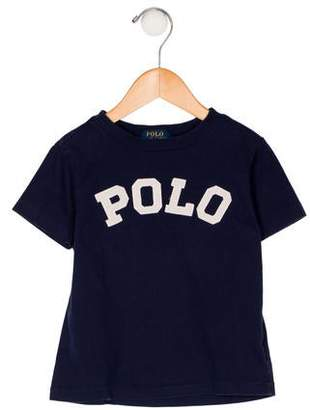 Ralph Lauren Boys' Printed Short Sleeve Shirt