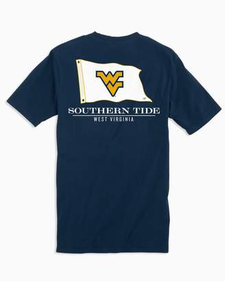 Southern Tide Gameday Nautical Flags T-shirt - West Virginia University
