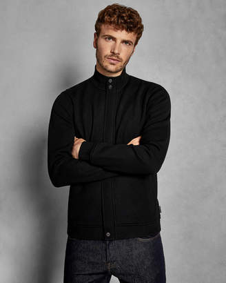 Ted Baker HONYCMB Quilted funnel neck jacket