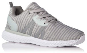 George Grey Lace Up Knitted Contrast Detail Trainers