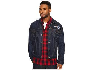 Levi's Mens Patriots Sports Denim Trucker