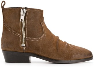 Golden Goose side-zip ankle boots