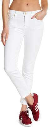 7 For All Mankind Roxanne Ankle Raw Hem Skinny Jeans