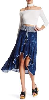 Tiare Hawaii Hi-Lo Hem Crochet Skirt