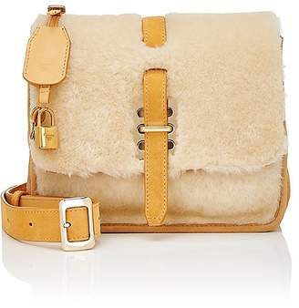DAY Birger et Mikkelsen Fontana Milano 1915 Women's Busy Lady Shearling Small Messenger Bag
