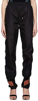 Off-White Women's Cotton Jogger Pants - Black