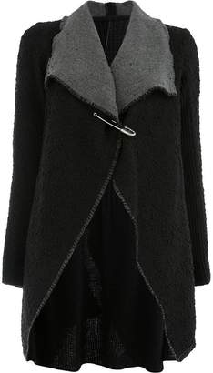 Masnada safety pin cardi-coat